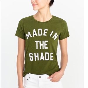 J. Crew Factory Made in the Shade Collector Tee